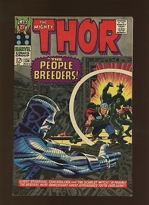 Thor 134 VF/NM 9.0 * 1 Book Lot * 1st High Evolutionary, Man-Best & More!