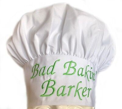 Personalized Name Custom Chef Hat Baker Cook High Quality All Sizes Best Gift!