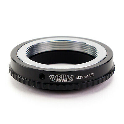 GFG Lens Mount Adapter - Leica M39 L39 LTM Lens to Micro 4/3 Mount Camera M4/3