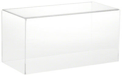 """Plymor Brand Clear Acrylic Display Case with No Base 12"""" W x 6"""" D x 6"""" H"""