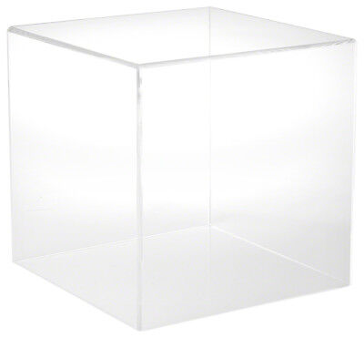 """Plymor Brand Clear Acrylic Display Case with No Base, 12"""" x 12"""" x 12"""""""