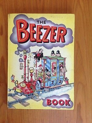 1962 beezer comic book annual