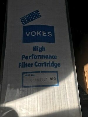 Vokes  Hydraulic Filter New C6360062 R03 Microfelt Xl Oil Lube Filter