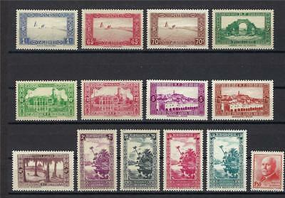 Algeria 1936-37 Sahara Admiralty King tombs Oued river French colony France MNH