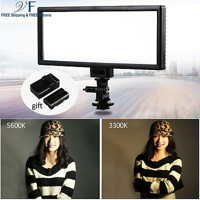 "VILTROX L132T 0.78""/2cm Ultra Thin CRI95 5600K/3300K Bi-color LED Video Light Di"