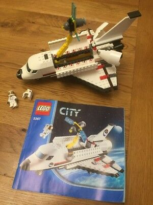 Lego City 3367 Space Shuttle Complete With Instructions Astronaut