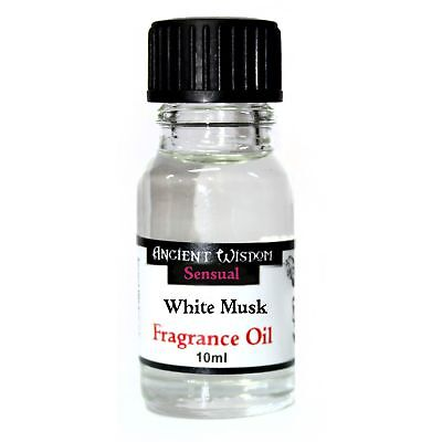 White Musk Fragrance Oils Ancient Wisdom for Oil Burners & Diffusers