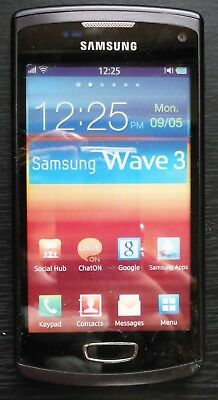 Handy-Dummy Samsung Wave 3 in schwarz