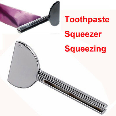 Stainless Steel Toothpaste Squeezer Cream Tube Squeezing Dispenser Money Saving#
