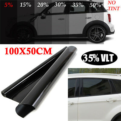 Uncut Roll Window Tint PET Film 35% VLT Universal Car Home Office Glass Sunshade