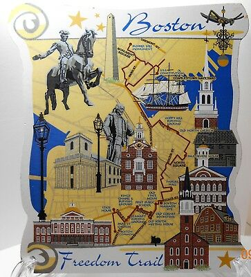 Cat's Meow #05-442 Boston Freedom Trail Map