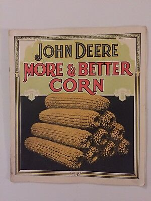 Vintage John Deere 1921 Advertising Pamphlet for a 919 Drill and a 999 Planter