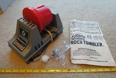 Rolling Stones rock polisher, tumbler works! with extras!