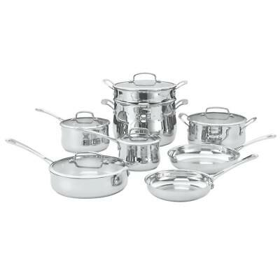 Cuisinart 44-13 Contour Stainless Steel 13-Piece Cookware Set