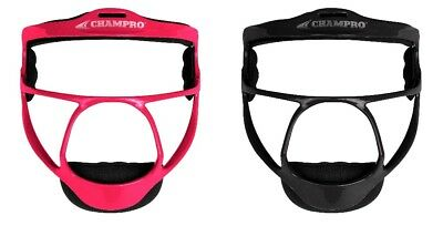 CHAMPRO Rampage Ultralight Softball Fielders Mask, Wide Vision, Youth or Adult