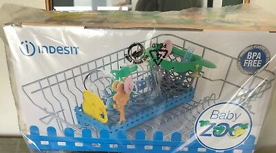 Dishwasher Zoo Accessory Tray Holder Basket BPA Free Indesit Baby Storage