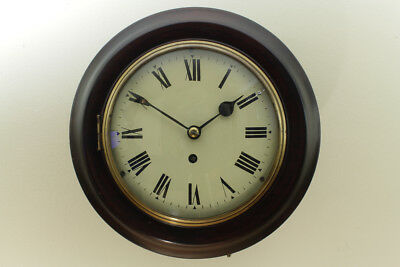 "Fusee Chain Driven Wall clock 8"" Dial Excellent condition (Fully serviced)"