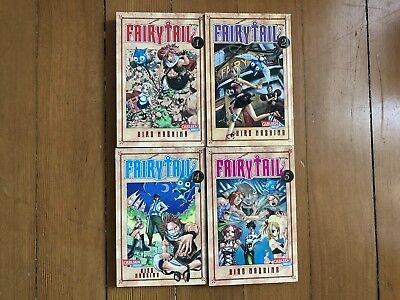 Fairy Tail Manga Band 1,2,4,5 Carlsen Manga  deutsch