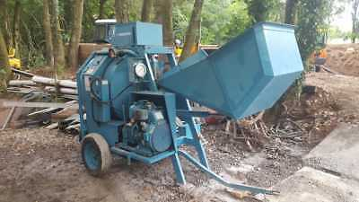 Large Concrete  cement Mixer, mixes just under half a cubic meter