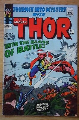 JOURNEY INTO MYSTERY NO.117 (1965) – Fine (6.0) – Thor in Vietnam