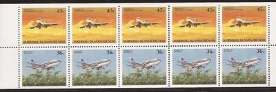 Marshall Islands - 1989 Boeing Aircraft - 10 Stamp Booklet #C25b