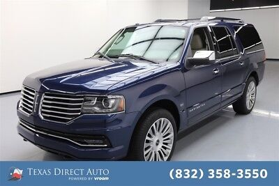Lincoln Navigator Select Texas Direct Auto 2016 Select Used Turbo 3.5L V6 24V Automatic RWD SUV Premium