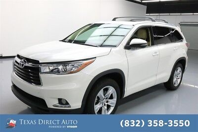 Toyota Highlander Limited Texas Direct Auto 2015 Limited Used 3.5L V6 24V Automatic FWD SUV Moonroof