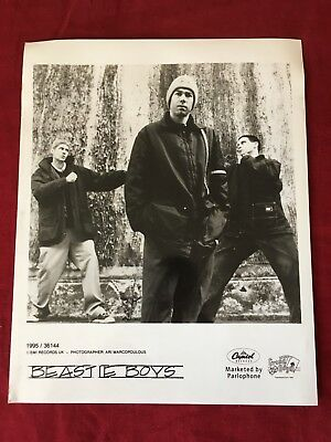Beastie Boys - Black & White Press Photo - 8x6in