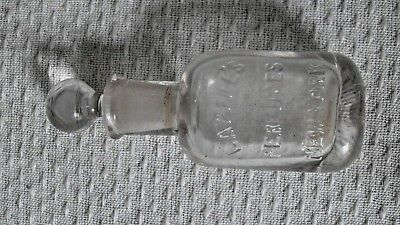 1887 Lazell's Prefume Bottle