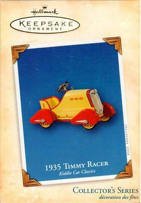 2004 Hallmark Keepsake Ornament: 1935 Timmy Racer #11 Kiddie Car Classic Series