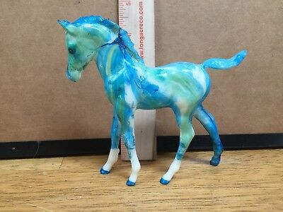 Breyer Horse Marbled Customized Foal