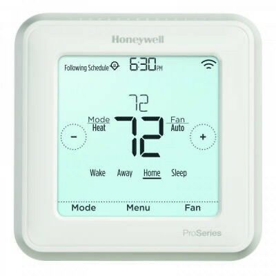 TWO Honeywell Lyric T6 Pro Wi-Fi Programmable Thermostat TH6220WF2006