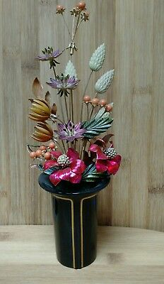 """House of Faberge """"The Autumn Palace Bouquet"""" Franklin Mint 1987"""