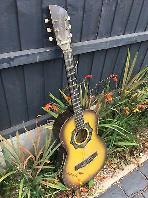 Project House Clearance Attic Barn Find Rare Vintage 1971 Orfeus Guitar Derby