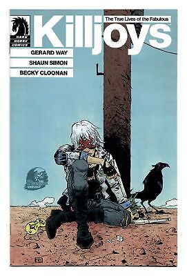 Gerard Way Killjoys #1 Phantom Variant Cover Dark Horse Comics Nm