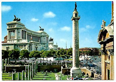 Rome Italy Altar of the Nation Postcard Roma Fatherland Vintage Unposted