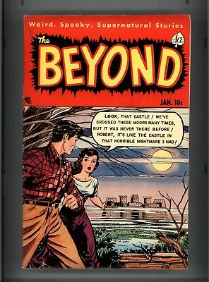 Beyond #8 Vg Ace Cover Detached At Top Staple