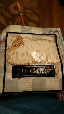 Ehrman Tapestry Kit Ram Aries Sheep 1994 William Briggs