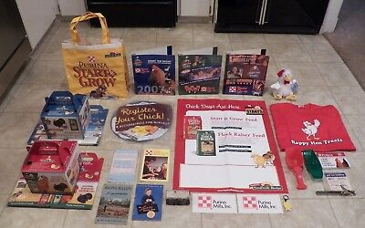 PURINA MISC CHICKEN - NEW & VINTAGE - BOX FULL OF ITEMS - MUST SEE  (Box 10)