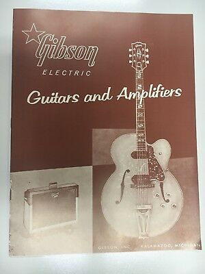 """1958 Gibson Electric Guitars &Amplifiers- """"The frets heard 'round the world"""