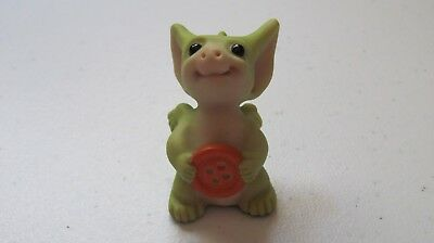 Pocket Dragon Real Musgrave Handmade 2001 Belly Button With Box