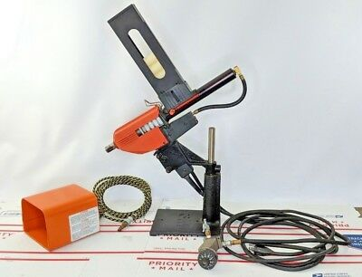 3M Polygun II Hot Melt Glue Gun pneumatic with bench mount and foot pedal