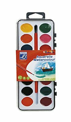 Lefranc Bourgeois 807170WatercolourAssorted Colours 2.2000000000000002x 12