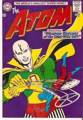 """DC Comics -THE ATOM #13 JULY 1964 """"WEAPON WATCHES OF THE TIME GUY!"""""""