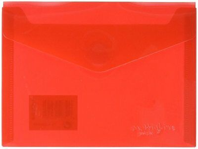 Economic grafoplas 4872651Envelopes with Extra Capacity, Red, A6