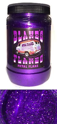 1lb Blakes Metal Flake .015 Helllila Hell Hot Rod Custom Automotive
