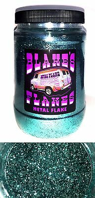 1lb Blakes Metal Flake .015 Eisblau Licht Hot Rod Custom Automotive