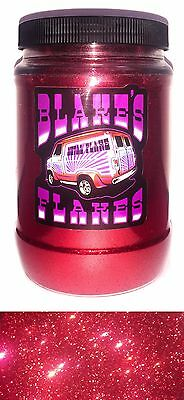 1lb Blakes Metal Flake .015 Feuerrot Hot Rod Custom Automotive