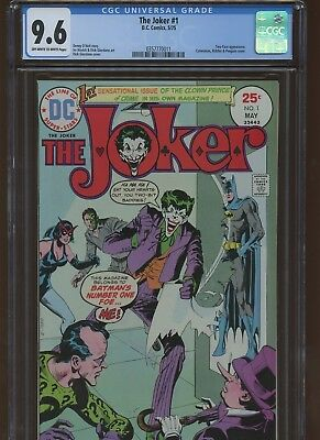 The Joker 1 CGC 9.6   Two-Face Appearance. Catwoman Riddler, & Penguin Cover.