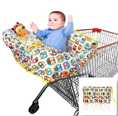 Croc n Frog Baby Toddler Shopping Cart & High Chair Cover